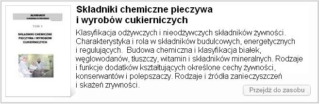 Składniki chemiczne