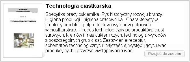 Technologia ciastkarska